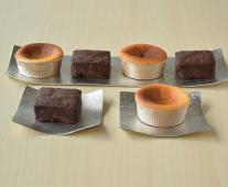 【期間限定】【7月12日発送】ショコラテリーヌとバスクチーズのケーキセット(6個入)