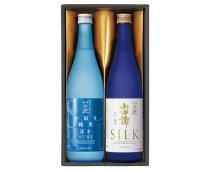 透き&シルク 純米酒飲み比べセット